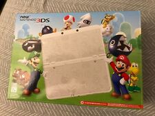 New Nintendo 3DS Mario Black Friday Limited Edition Console - White (w/ Charger)
