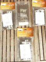 Vollmer 6011 H0 Set Konvolut 4 x Telefonmasten doppelt 48 Stück, Bausätze in OVP