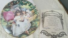 Storybook Memories 5th Plate by Sandra Huck Hearts and Flowers Collection #4146D