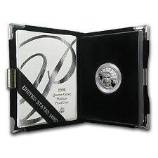 1998-W 1/4 oz Proof Platinum American Eagle (w/Box & COA)
