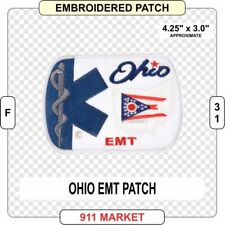 Ohio EMT Patch EMS Medic OH State Emergency Emergency Medical Technician - F 31