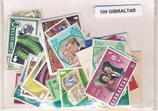 Gibraltar    US  Paquete  100 sellos diferentes