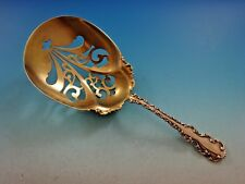 Louis XV by Whiting Sterling Silver Saratoga Chip Server Gold Washed 8 7/8""