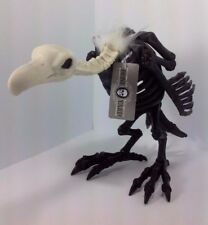 "Halloween Black Skeleton Vulture ""The Bone Yard"" Decoration Prop"