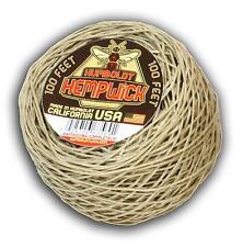 Humboldt Hemp Wick 100 feet - #1 Brand - Best Deal Bee Rope Hemp Line Hempwick