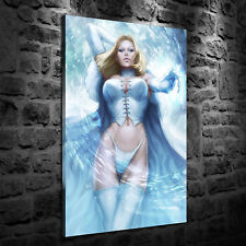 HD Print Oil Painting Home Decor Art on Canvas Emma Frost 12x18inch Unframed