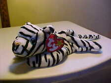 Retired Beanie Babies Blizzard the Tiger DOB 12/12/96 Style 4163