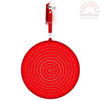 100% Genuine! D.LINE Silicone Splatter Screen 31cm Red! Heat Resistant!