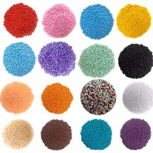 3000+ Glass 2mm Seed Beads Opaque - Pick your Colour