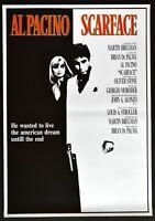 Manifesto Scarface En Pacino Brian De Palma Oliver Stone Gangsters Montana P10