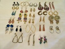 Lot of 25 Pairs Vintage to Now Estate Pierced Earrings