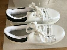 Alexander Mcqueen Style Trainers Size White And Black