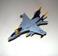 Disney Pixar Movie Planes Diecast Yellow Helmet F-18 Jet Fighter Toy Plane