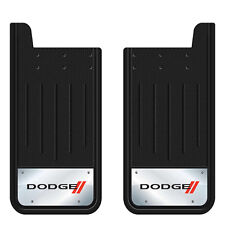 "Dodge Elite Heavy Duty Mud Splash Guards 12"" x 23"" For Trucks Made in the USA"