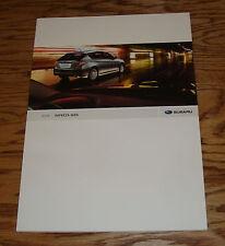 Original 2008 Subaru Impreza WRX Deluxe Sales Brochure 08