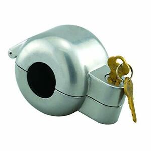 Defender Security Door Knob Lock-Out Device Diecast Construction Gray Painted