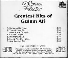 GREATEST HITS OF GHULAM ALI - BRAND NEW ORIGINAL CD - UK