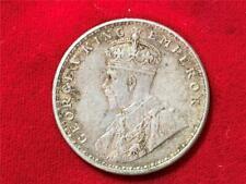 BRITISH INDIA 1920 KING GEORGE V ONE RUPEE UNC TONED