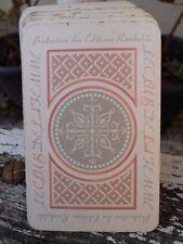 Jeu de 52 cartes Le club des femmes édition Rombaldi complet