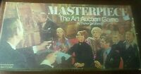 Vintage 1970 MASTERPIECE The Art Auction Board Game Parker Brothers 99%