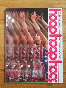 HOOP PHILADELPHIA 76ers vs NEW JERSEY NETS 1981 Magazine JULIUS ERVING GMINSKI