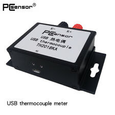USB Thermocouple Thermometer Metal Case with 0~1024C K-type Probe TH2018KA