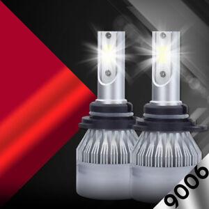 9006 HB4 1400W 210000LM CREE LED Headlight Kit Low Beams Bulbs 6000K White Power