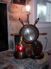 UNIQUE NAUTICAL LAMP AND BAROMETER