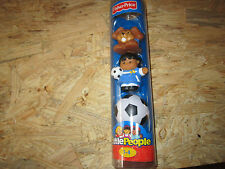 fisher price little people soccer sports dog play outdoor goal jersey team