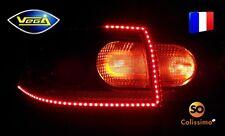 2 bandes VEGA® arrière rouge 120 LED 335 SMD 360 lumens 60 cm étanches IP68