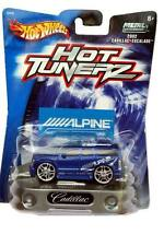 2002 Hot Wheels Hot Tunerz 2002 Cadillac Escalade Blue