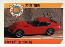 1969 Toyota 2000 GT, Japan, Dream Cars Trading Card, James Bond --- Not Postcard