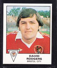 PANINI-CALCIO 80 - # 75 David Rogers-bristol city