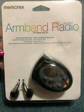 Memorex Armband  AM/FM Digital Sport Radio New In Box MR4402BK Free Shipping