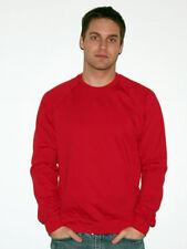 American Apparel Unisex California Fleece Raglan Sweatshirt. 5454 NEW!