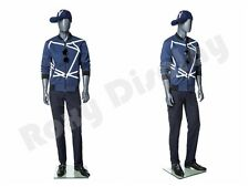 Male Fiberglass Abstract Style Mannequin Dress Form Display Mz Mg004