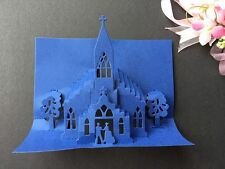 Metal Cutting Die Handmade Cards Scrapbook 3D Church Wedding Die Cutter DC1268
