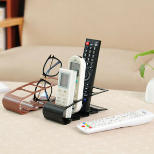 TV Remote Control CellPhone Stand Holder Storage Caddy Organiser Rack Tools
