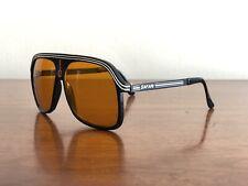 "New listing Safari "" Scarface "" - Vintage Sunglasses - Italy 80's 90's - Large Orange Lenses"