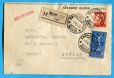 UNESCO £.55 + DEM.£.10 arancio ann.FAGNANO OLONA, in tariffa (276730)