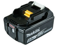 MAKITA BL1850B 5.0AH 18V LXT LI-ION WITH BATTERY INDICATOR  NEW AUS MODEL