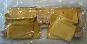 Lot 6 McGuire-Nicholas 11 Pocket Leather Tool Belt MS490
