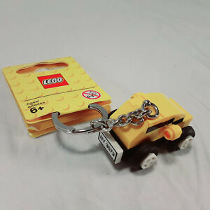 LEGO Minifigure Classic Yellow Car Keychain/Bag Charm #853573~New York License