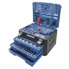 232-PCS Standard SAE and Metric Polished Chrome Mechanics Tool Sets with Case