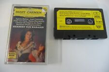 BIZET CARMEN HIGHLIGHTS BERLINER PHILHARMONIKER KARAJAN DGG K7 AUDIO TAPE