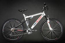 Vtt Tout Suspendu 21 Vitesses 26'' Slyder Blanc Vélo Neuf 51 cm KS Cycling 520M
