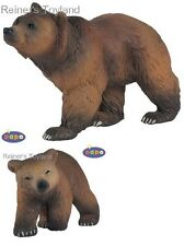 Figuren Papo Wilde Tiere - 50032 Braunbär + 50031 Braunbärjunges - NEU