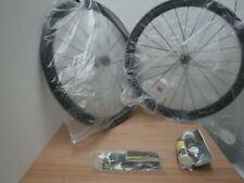 PAIR  Mavic Ksyrium Pro Carbon UST wheels with Yksion Pro UST tubeless tyres.