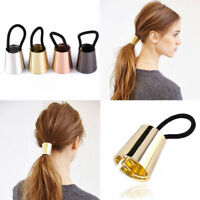 Elegant Girl Elastic Ponytail Holder Hair Cuff Wrap Tie Band Ring Rope Accessary