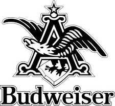 "Budweiser Eagle A Alcohol Bumper sticker, wall decor, vinyl decal, 5""x4.6"""